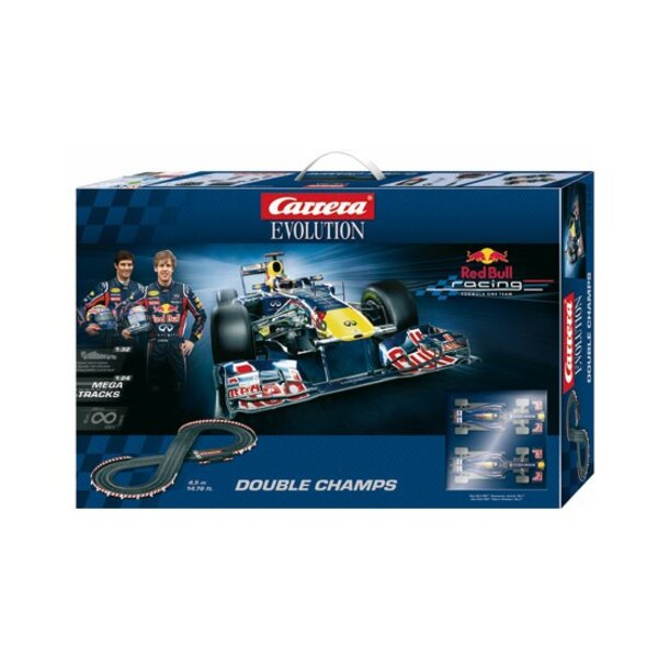 Exclusive Red Bull Double T2MCircuit champsVoitures 1/32Piste Mega Track 1/24 4.5m