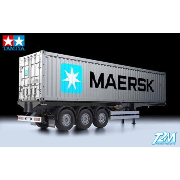 Semitrailer Container carrier