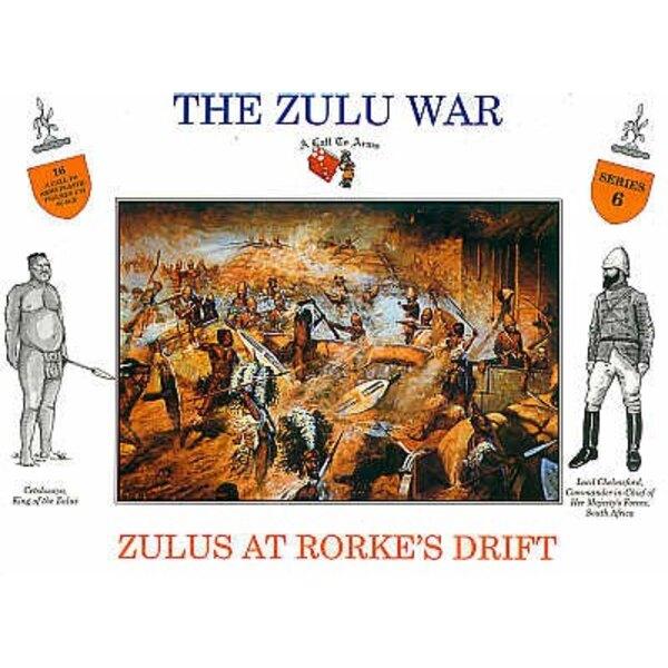 Zulu at Rourkes Drift 16 figures