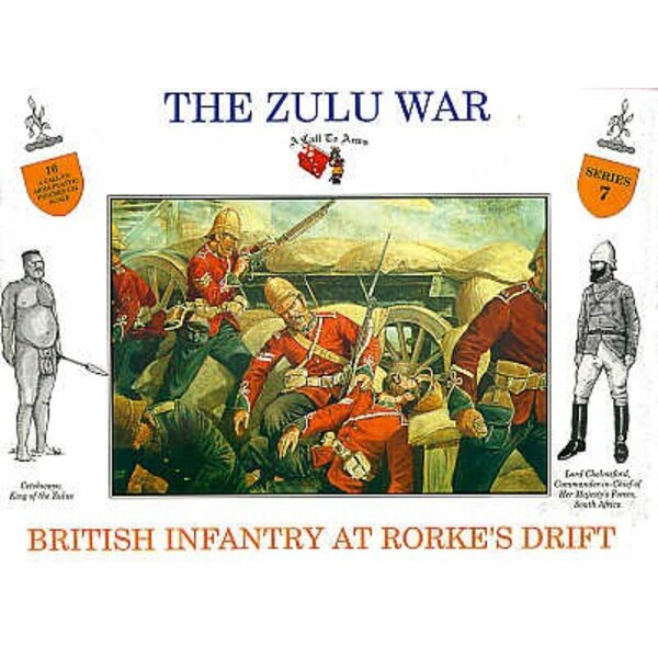 British at Rourkes Drift 16 figures