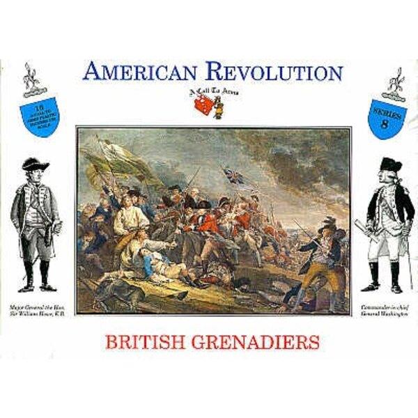 British Grenadiers 16 figures