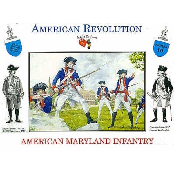 Révolutionnaires américains - 16 figurines