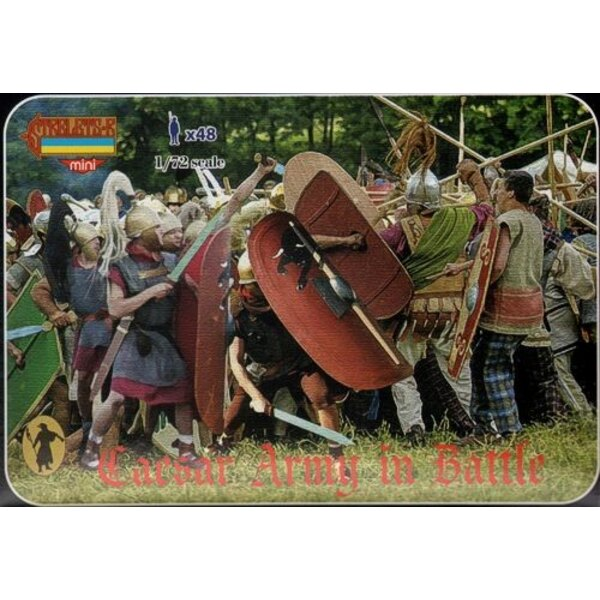 Caesar Army in Battle. Ancient