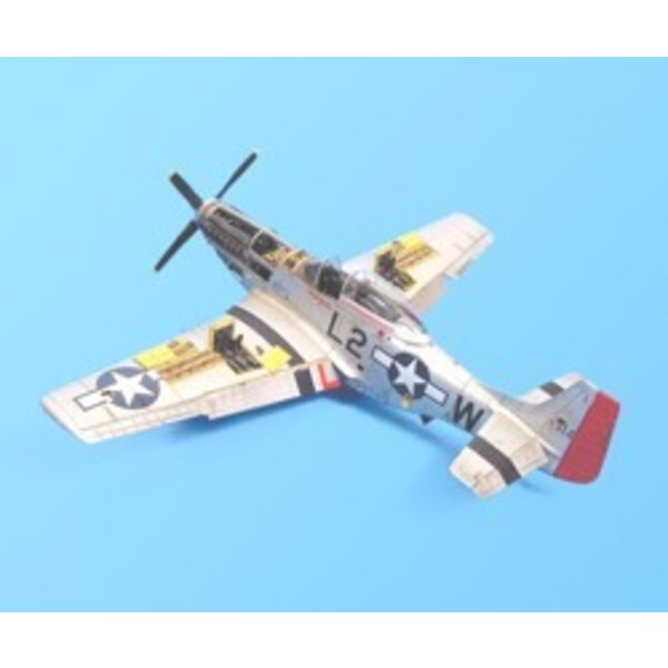 North American P-51D Mustang detail set (designed to be assembled with model kits from Tamiya)