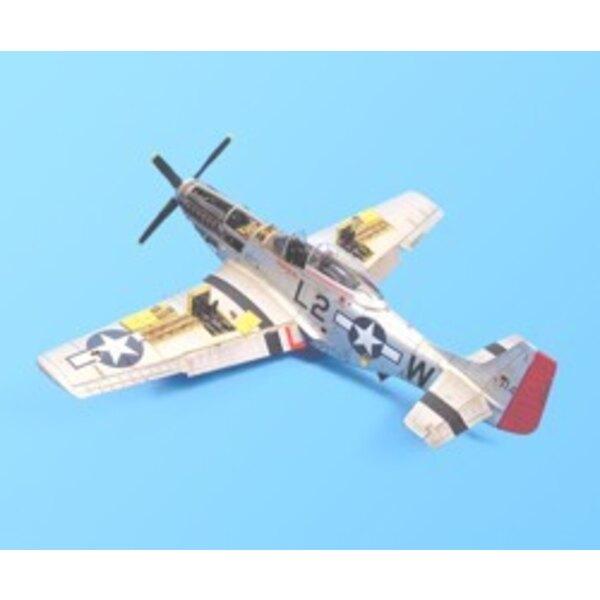 North American P-51D Mustang detail set (diseñado para ser ensamblado con maquetas de Tamiya)