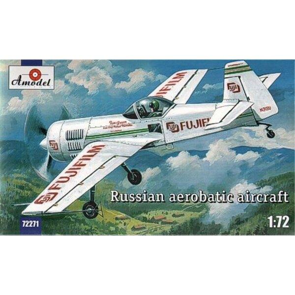 Sukhoi Su -31 Russian aerobatic aircraft
