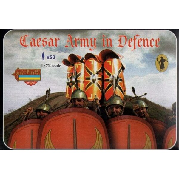 Caesar Army in Defence . Ancient