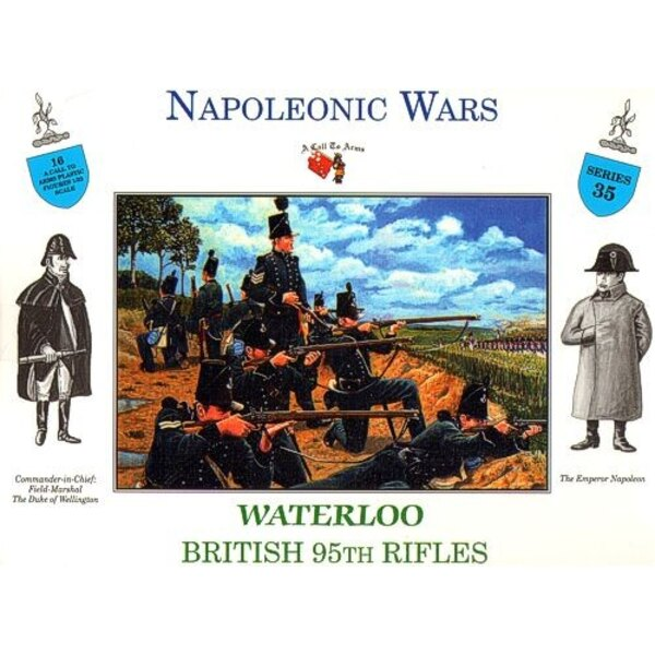 95th BRITISH RIFLES WATERLOO
