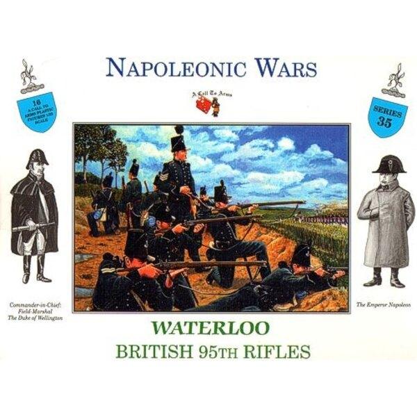95th BRITISH RIFLES WATERLOO