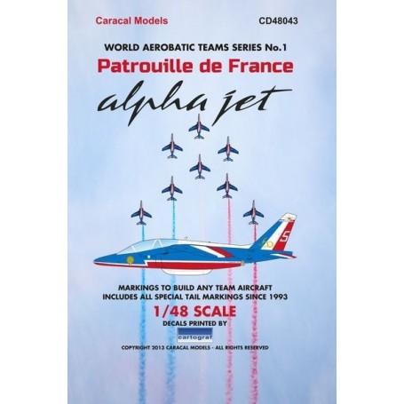 Décal Patrouille de France Alpha Jet