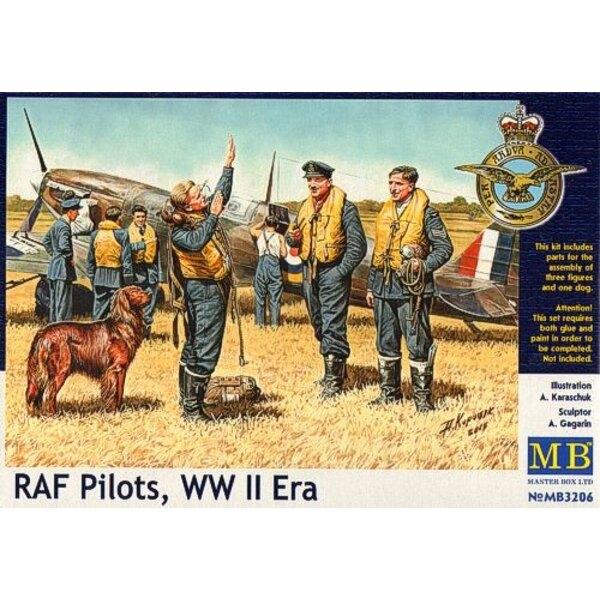 RAF Pilots , WW II Era