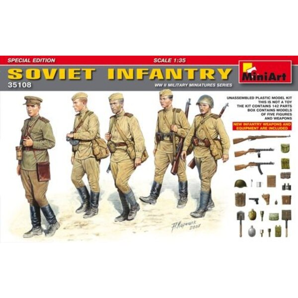 Soviet Infantry Weapons Special EditionNew