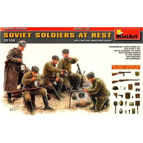 Soviet Soldiers at RestSpecial Edition