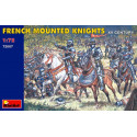 Chevaliers français du XVème siècle à cheval Mini Art MT72007