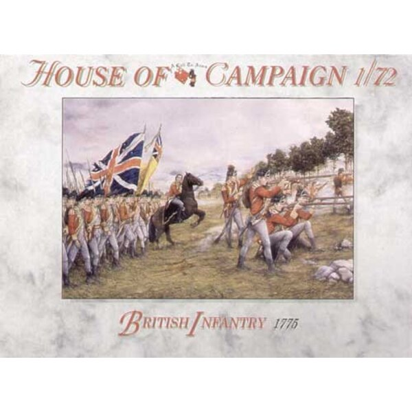 Infantería británica 1765