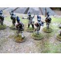 Campagne d'Espagne : Infanterie britannique - 92 figurines par boîte HAT Industrie HAT8186
