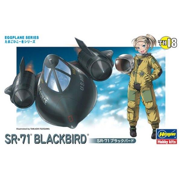 EGG SR-71 BLACKBIRD