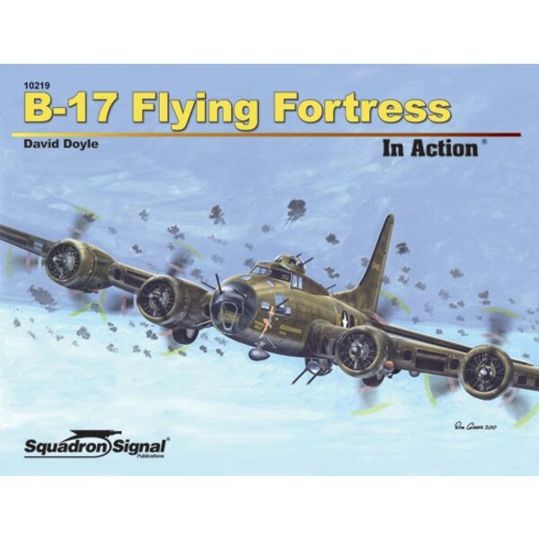 Livre B-17 FLYING FORTRESS - IN ACTION