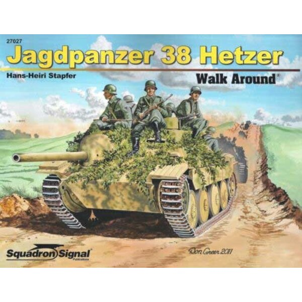 Livre JAGDPANZER 38 HETZER WALK AROUND