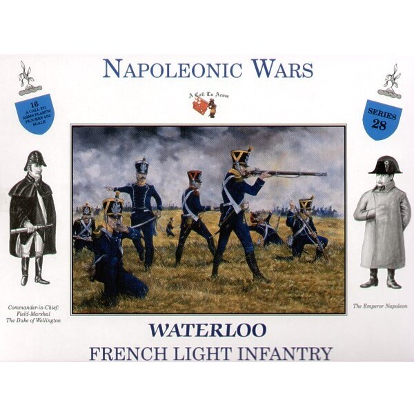 French Light Infantry Waterloo