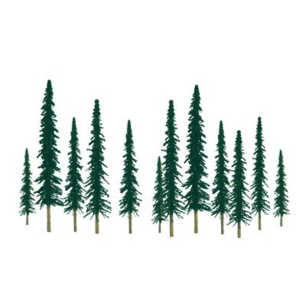 CONIFER 50 to 100mm . N SCALE