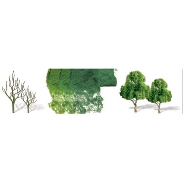Deciduous trees 62 to 100mm - HO SCALE