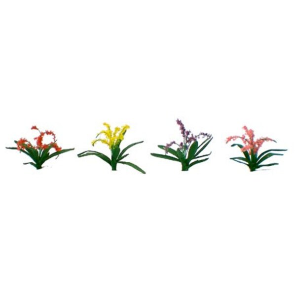 PLANTS FLOWERS ASSORTED 21mm - HO SCALE