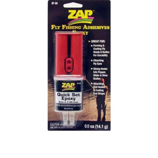 SYRINGE Z- POXY 5 MINUTES - 14 grams - SPECIAL FISHING
