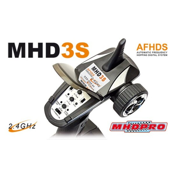 3 Channel Radio MHD3S 2.4 GHz