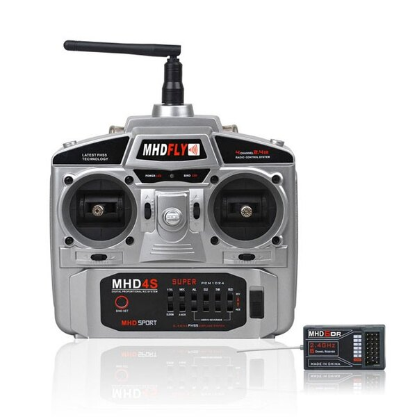 RADIO 4V MHD4S 2,4 GHz Modo 1