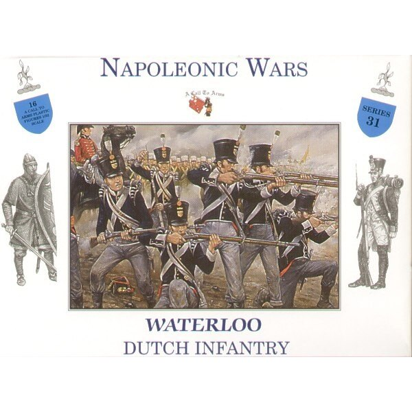 Infanterie hollandaise Waterloo