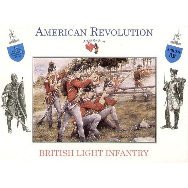 Guerre d'indépendance américaine - infanterie légère britannique