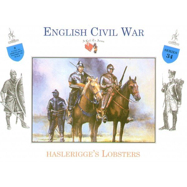 English Civil War Cavalry (Haslerigges Lobsters)