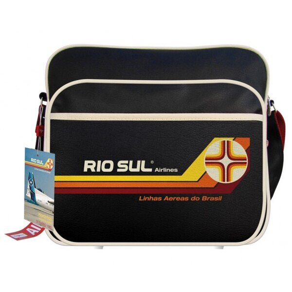 Airlines Flight Travel Bag Rio Sul Brazil
