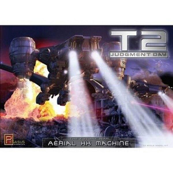 Terminator 2 Hunter Killer Machine aérea