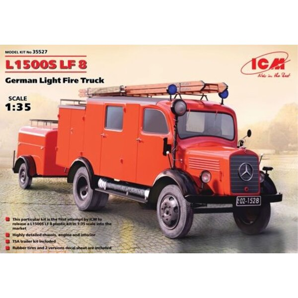 L1500S LF 8 - German Light Fire Truck