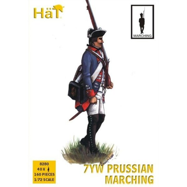 Prussian Infantry Marching Seven Years War/7YW