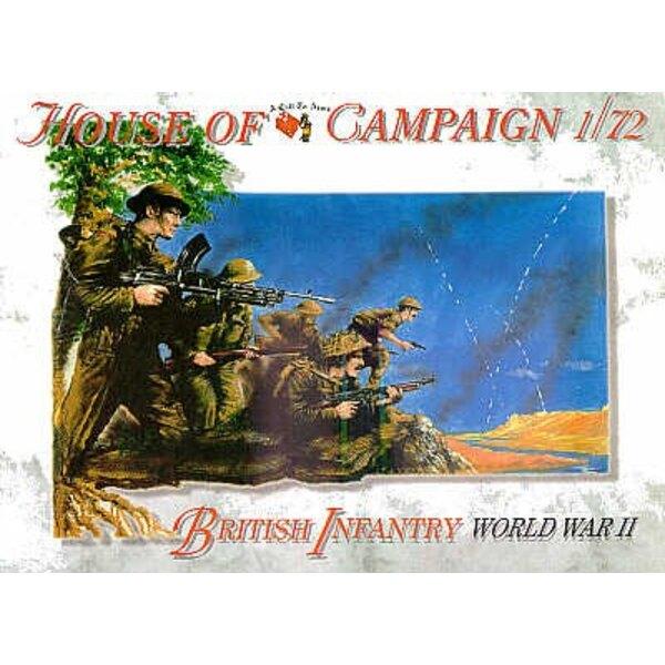 Infanterie britannique - Seconde Guerre mondiale