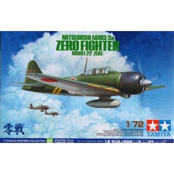 A6M3/3A Mitsubishi Zero Model 22 Zeke