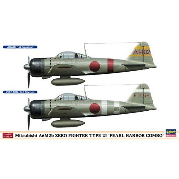 A6M2b ZERO PEARL HARBOR COMBO