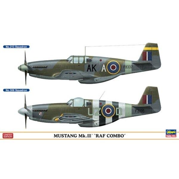 Combo Mustang Mk.III RAF