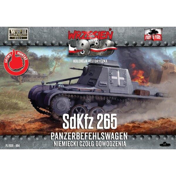 Panzerbefehlswagen Sd.Kfz.265 tanque de mando alemán