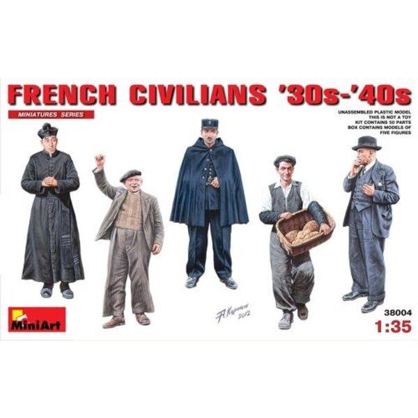 Los civiles franceses 30s - 40s