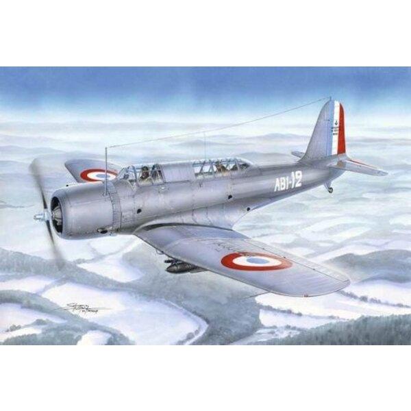 Vought V - 156F Vindicator en EE.UU. Navy Naval Air Service di cuenta que la época de los biplanos ha terminado en los años 1930