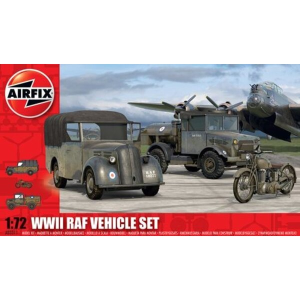 RAF Vehicles The RAF used the Tilly , Bedford and BSA M20 Motorcycle in this set are all requirements for Many icts bases across