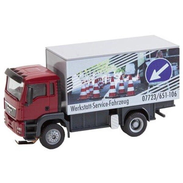 MAN sistema del coche camión de TGS