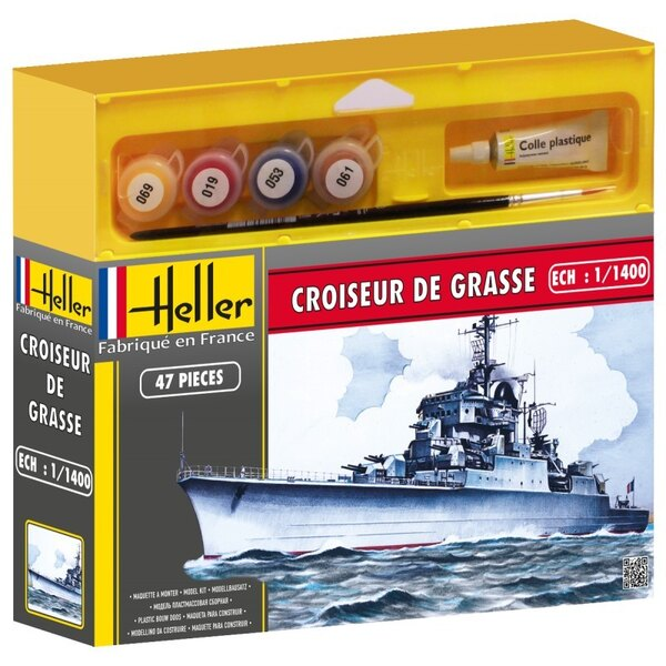 Cadet cruiser De Grasse - paints and brush included
