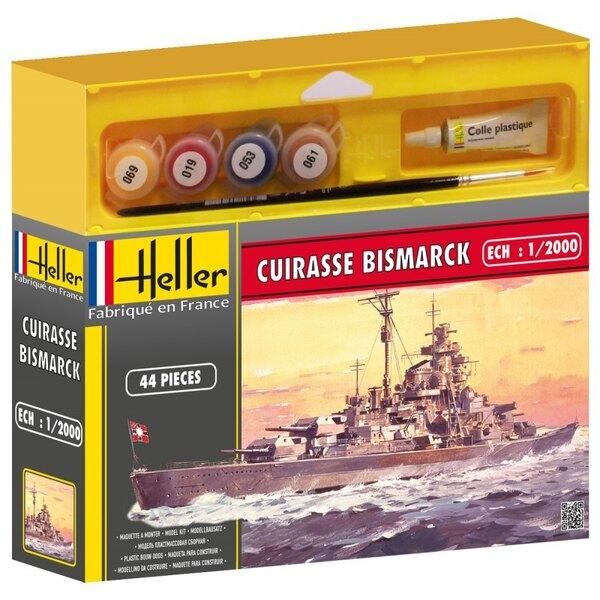 Cuirassé Bismarck Cadet - peintures et pinceau inclus