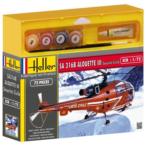 Alouette III sécurité Civile