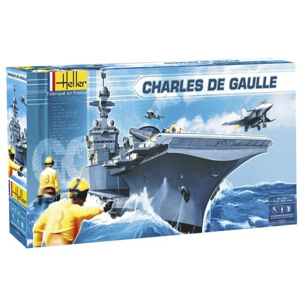 Le Charles de Gaulle 1/400